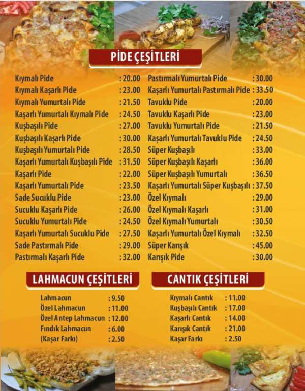 tantuni pide yemek sipariş online sipariş sultan ateşi kebap pide